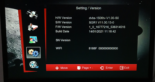 7 STAR 1506TV 512 4M BUILT IN WIFI NEW SOFTWARE 14 JANUARY 2021