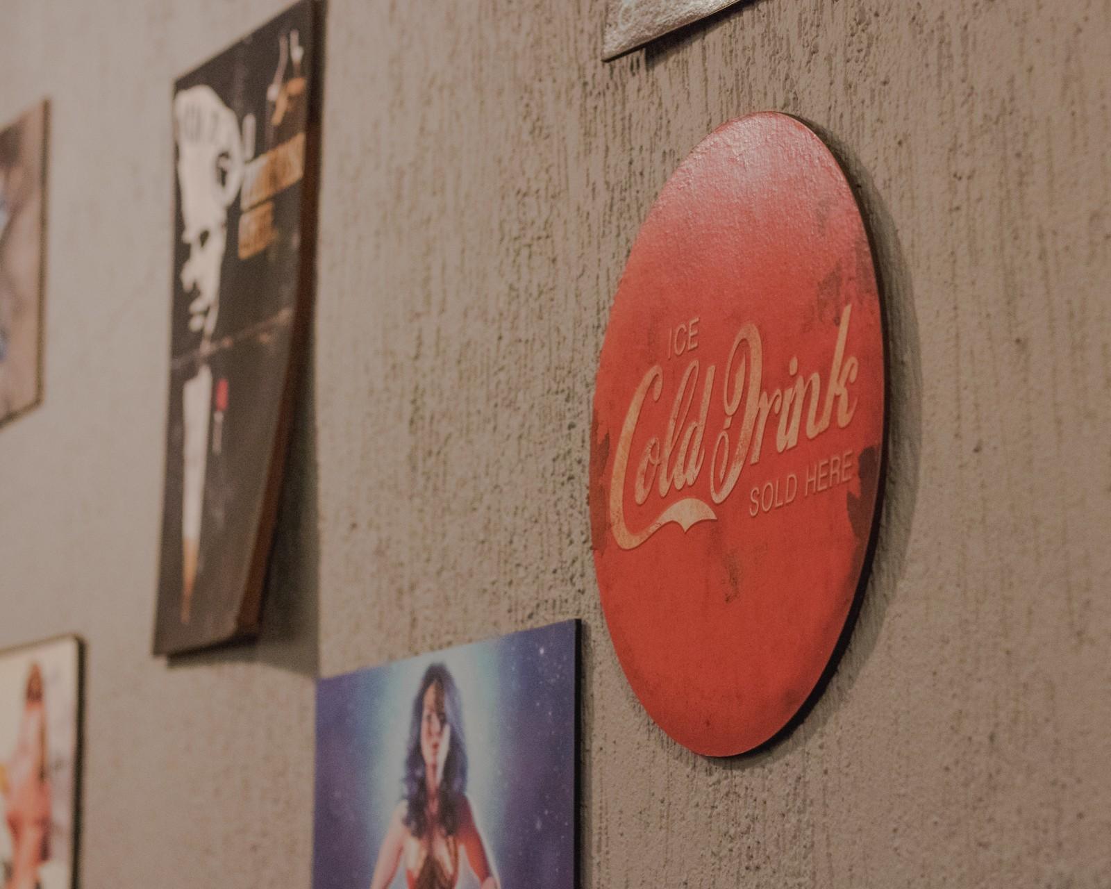 placa vintage coca cola