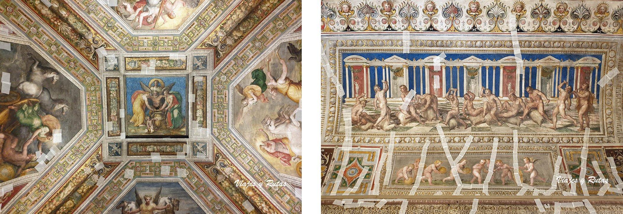 Frescos del castillo d'Este de Ferrara