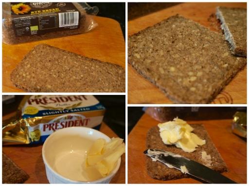 Fanny Cradock Open Sandwich