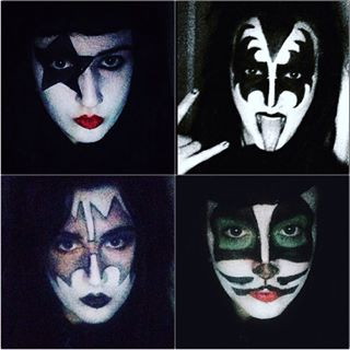 Best Face Paint For Kiss