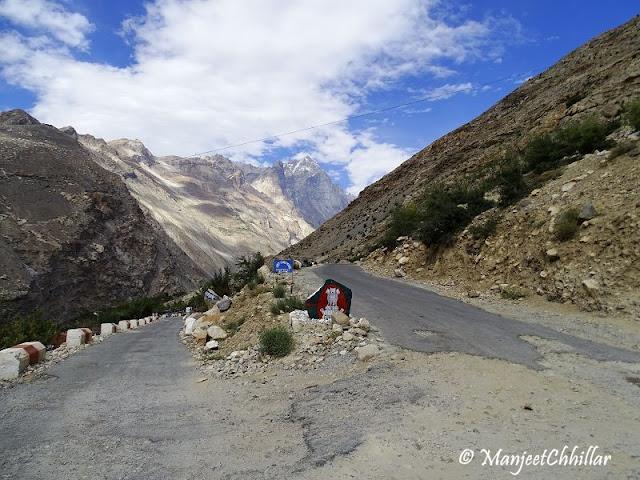 Namgia Road, Himachal