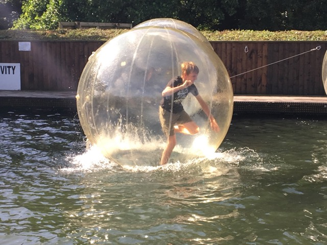 Water zorb Heatherton activity world