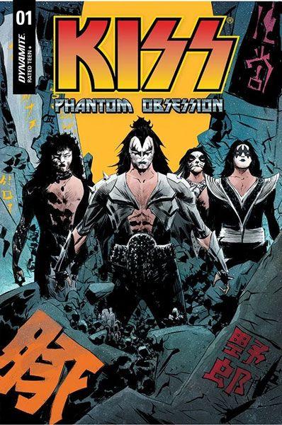 Kiss protagonizará un nuevo cómic