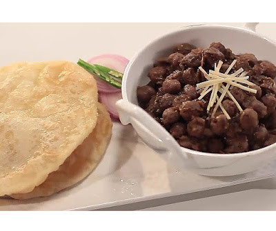 Homemade chole bhature recipe