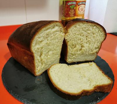 Un delicioso pan de molde casero