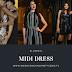 Midi Dress - Femme Luxe