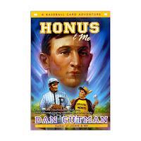 http://www.ebay.com/itm/Honus-and-Me-Baseball-Card-Adventures-by-Dan-Gutman-2009-paperback-/201922357136?hash=item2f0382a790:g:e3UAAOSwCGVYAFK2