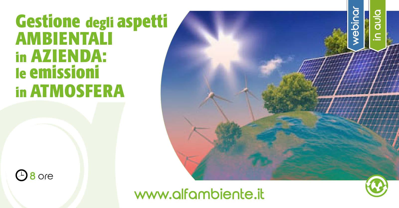 La Gestione degli Aspetti Ambientali in Azienda: Le Emissioni in Atmosfera