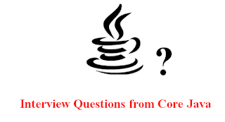 core java interview questions and answer