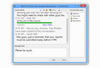 Aplikasi Chat LAN Massenger untuk PC Jaringan Lokal