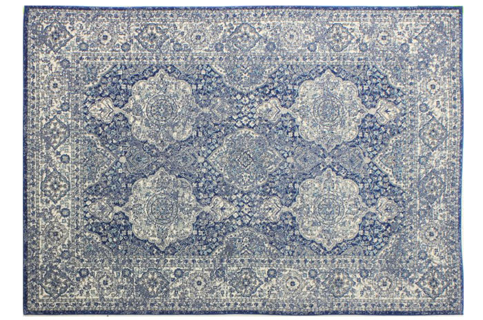Lark Blue Rug from Joss and Main | 20 Classic Style Rugs for Any Budget at www.andersonandgrant.com