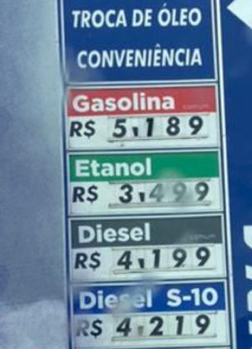 Anápolis: Postos de combustíveis aumentam preços e são notificados pelo Procon