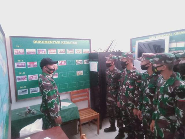 Siswa Dikjurta If Abit Dikmata TNI AD Gelombang II TA 2020 Diterima Personel Jaajran Kodim 0207/Simalungun Dimakoramil