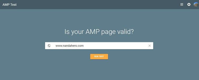 cek template amp blog nanda hero