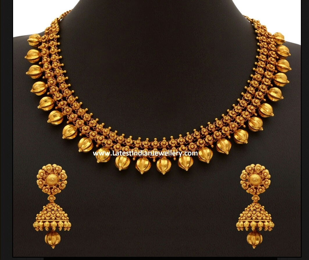 Latest gold necklace - Latest Jewellery Design for Women | Men ...