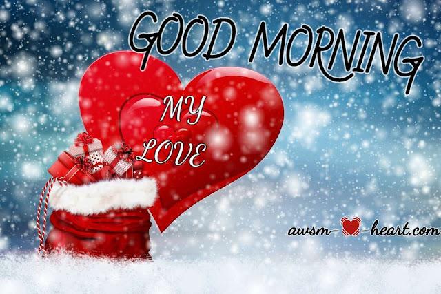 Good morning my love hd pic