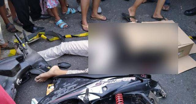 Dua Orang Tewas Akibat Kecelakaan Maut di Jambi Timur