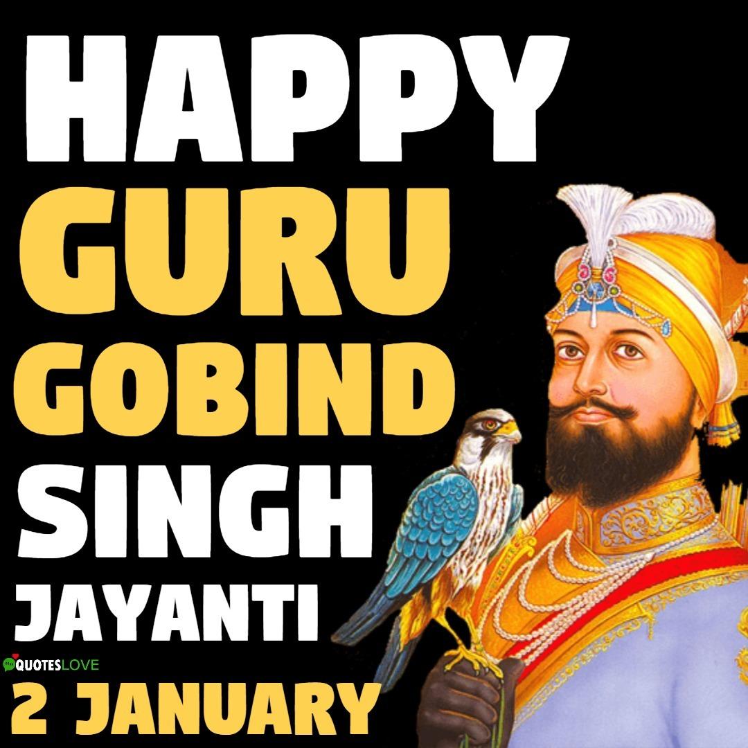 (Latest) Guru Gobind Singh Jayanti Images, Poster