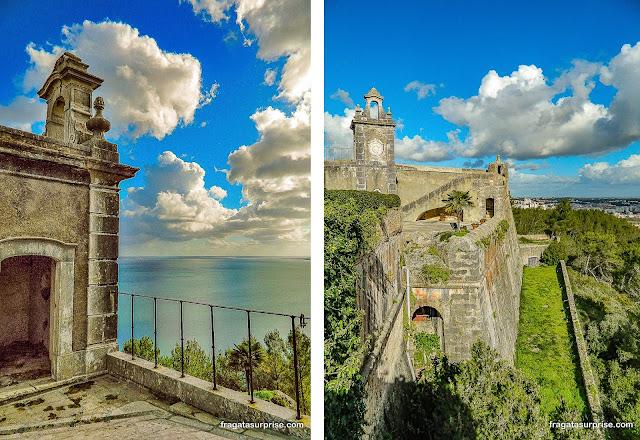 Castelo de São Filipe, Setúbal, Portugal