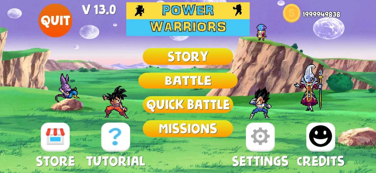 Power Warriors 13.0 Mod Apk Download