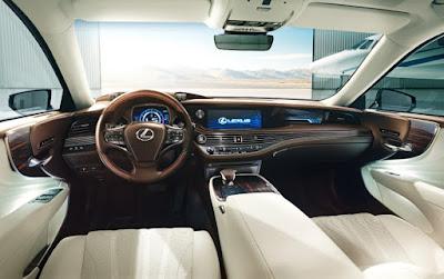 Carshighlight.com - 2020 Lexus LS500h Review