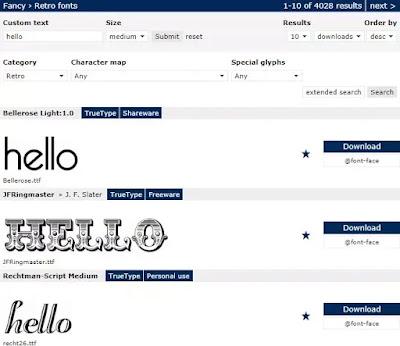 cara membuat efek tulisan retro secara online-6