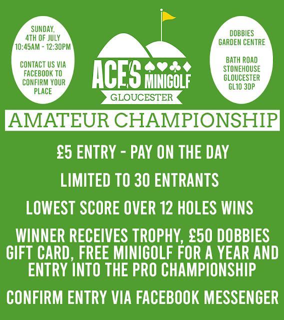 Amateur Championship at Aces Minigolf Gloucester