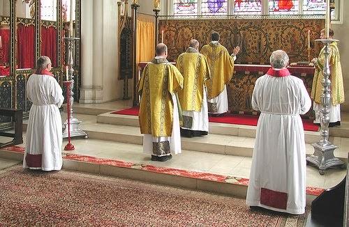 falando do culto anglicano