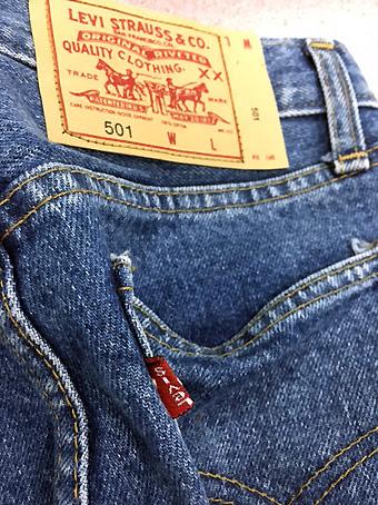 detaljert blikk største rabatt beste service Dances With Balloons: Fake Levis 501 Jeans
