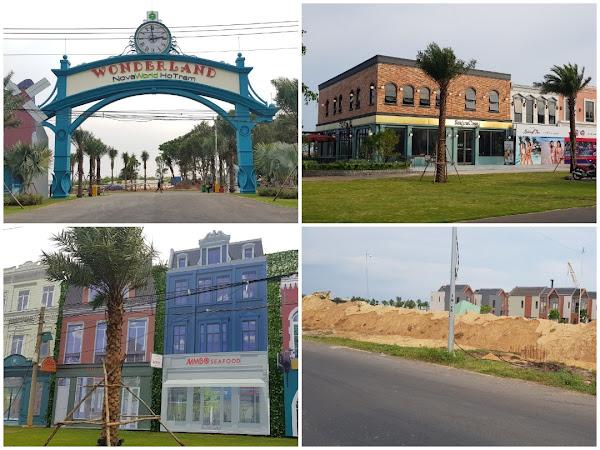 Các dự án bất động sản triển khai điển hình như dự án wonderland của tập đoàn novaland