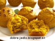 Tekvicové muffiny - recept