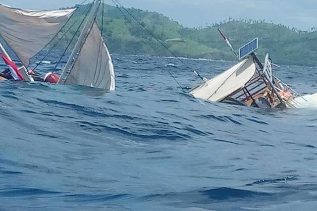 Kronologi Tenggelamnya Kapal Pengangkut Wartawan Istana di NTT Labuan Bajo