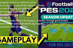 New Version Mod Gameplay PES 2021 For - PES 2017
