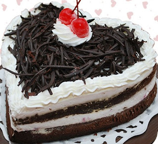 Valentine BlackForest Cake
