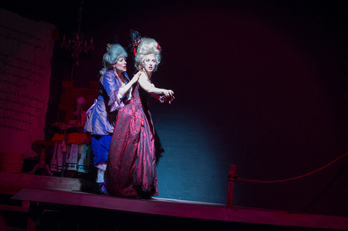 Stacy Melich and Park Krausen | The Revolutionists |  7 Stages | Photo by Stungun Photography