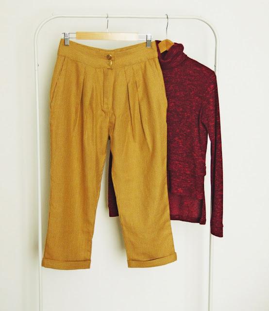 damskie spodnie z Burdy