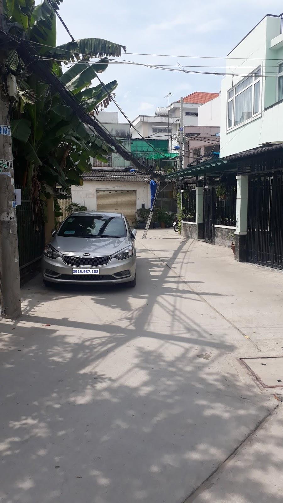 Bán nhà Hẻm xe hơi 2683 Phạm Thế Hiển phường 7 Quận 8. DT 4x10,5m