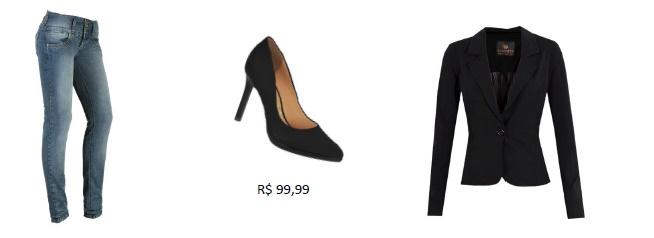 Sapato Preto Coringa no Armário blog Estilo Modas e manias