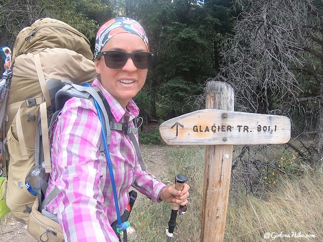 Backpacking to the Dinwoody Lakes, Wind Rivers, Backpacking the Glacier Trail Wind Rivers