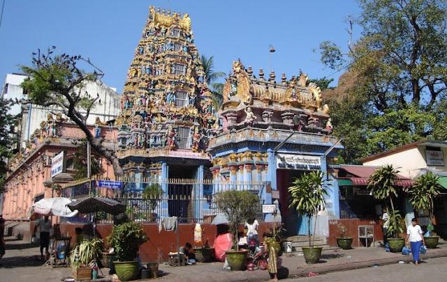 Shri Kali Temple in Myanmar or Burma