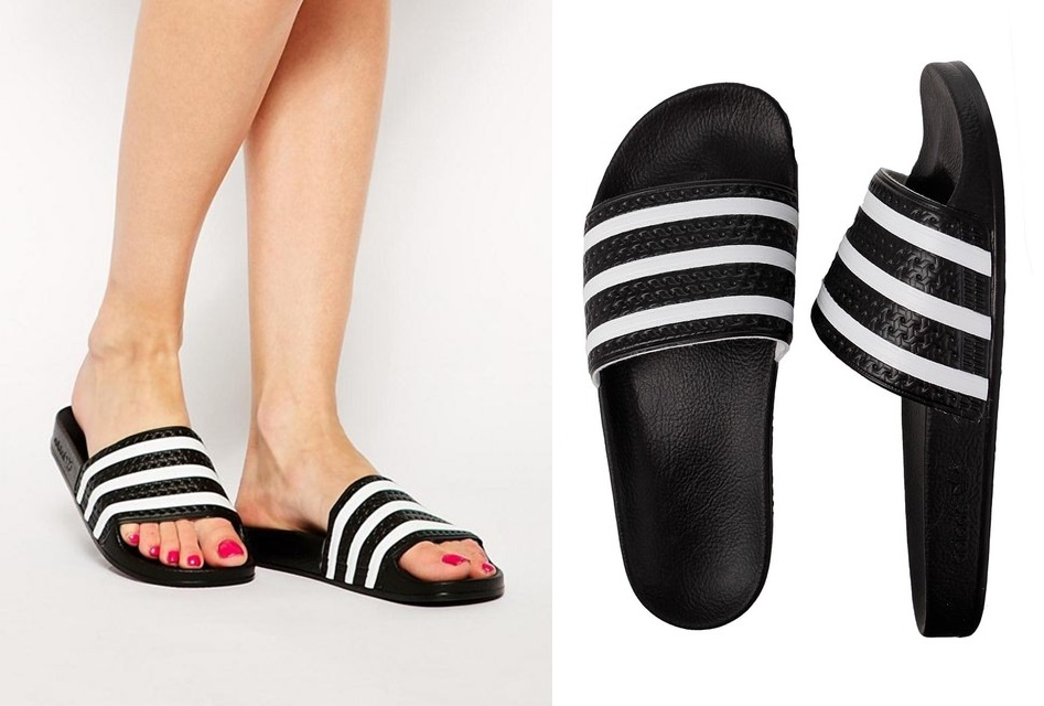 33ec97bb7da797 Head over to Nordstrom and get this Adidas  Adilette  Slide Sandal on sale  for  19.98 (Reg.  44.95). Plus