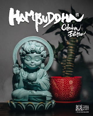Hambuddha Celadon Edition Vinyl Figure by Tik Ka From East x Mighty Jaxx