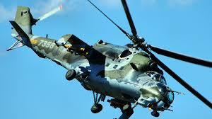 helicóptero ruso Mi-24