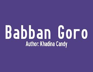 Babban Goro