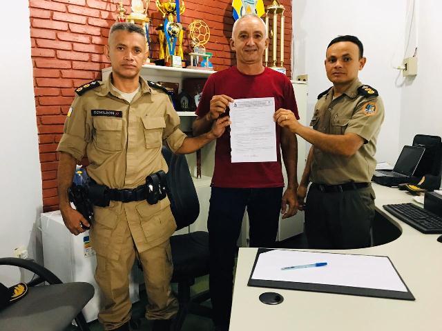 Tenente Marinho assina pedido de transferência para a reserva depois de 30 anos de serviços prestados na PMTO
