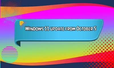 Windows 11 update from October 5