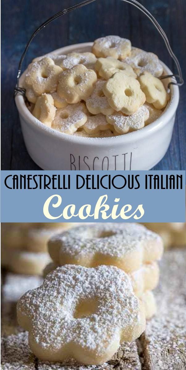 Canestrelli Delicious Italian Cookies #cookiesrecipes