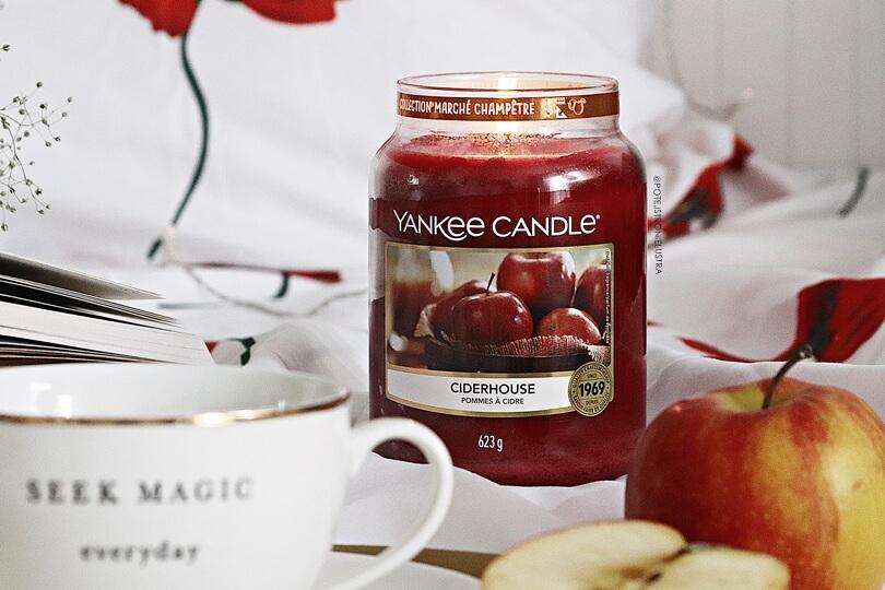 świeca zapachowa yankee candle ciderhouse nowy zapach na jesień