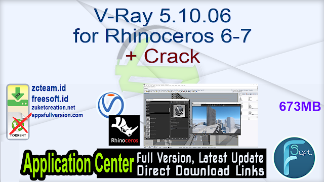 V-Ray 5.10.06 for Rhinoceros 6-7 + Crack_ ZcTeam.id